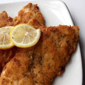 Cotoletta di pesce panato